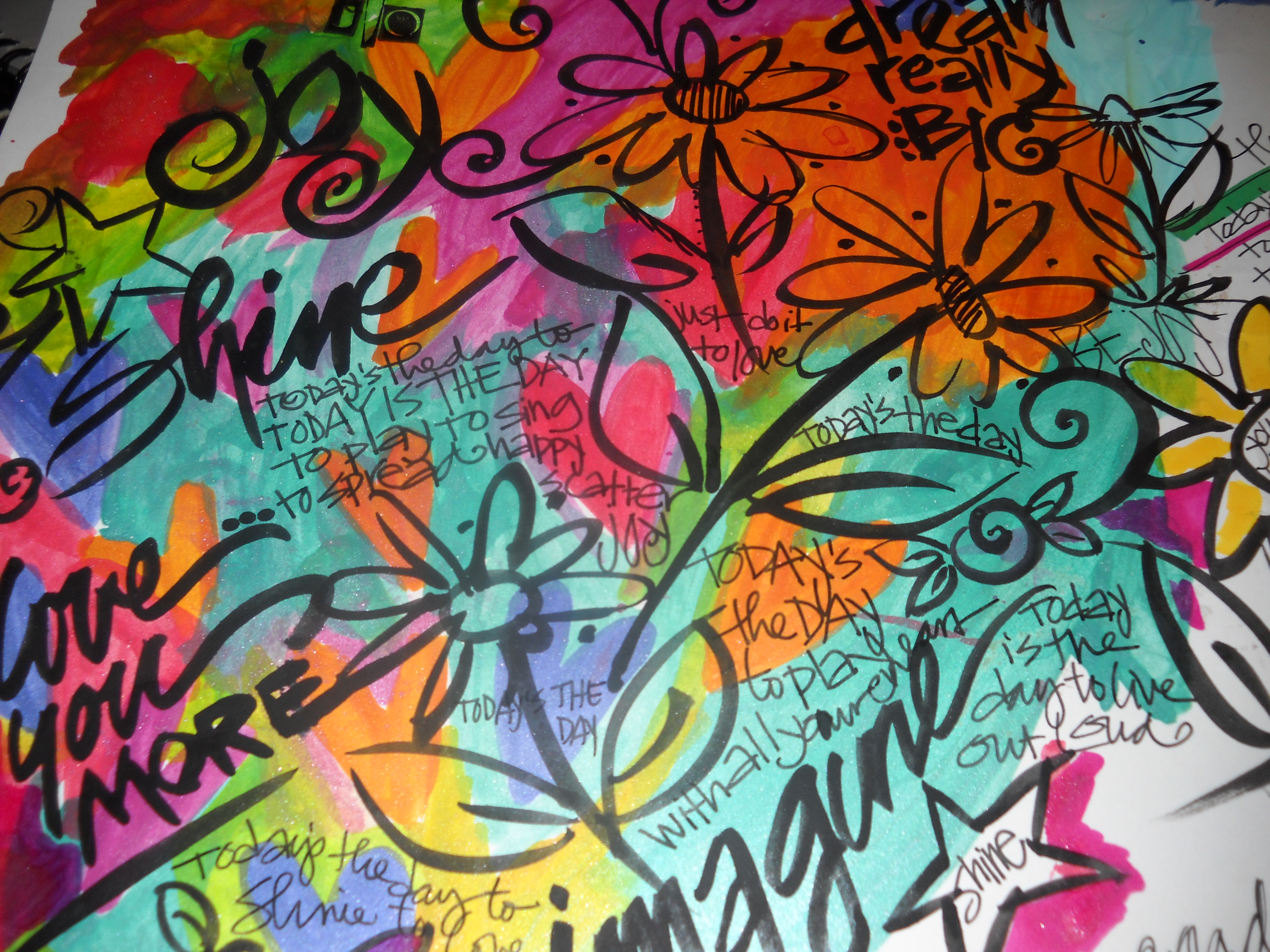 Whimspirations: coloring books and crayons.....art journaling pens ...